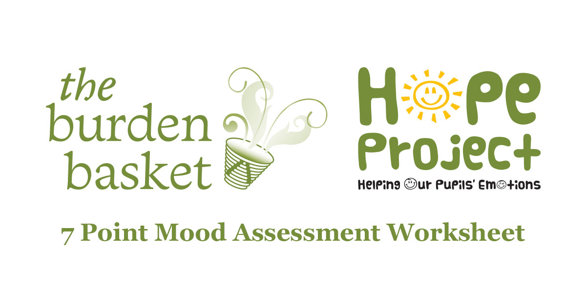 point scale mood assessment worksheet