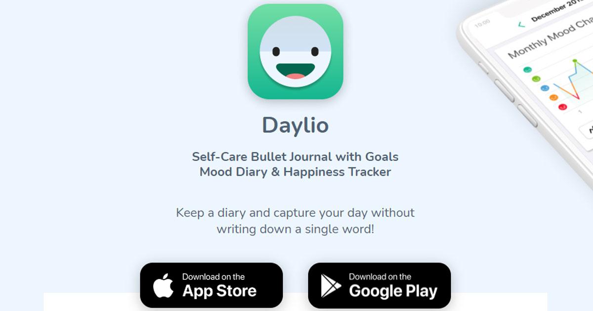 daylio self care journal
