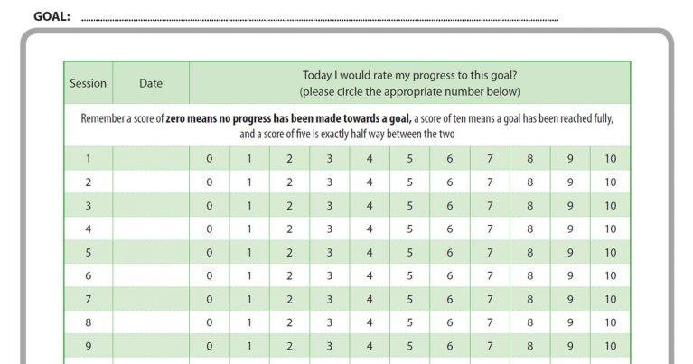 gbo goal progress chart mh
