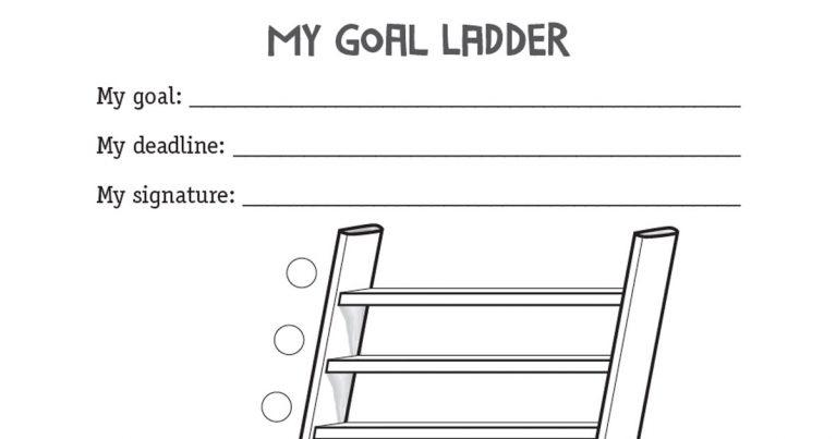 my goal ladder target setting