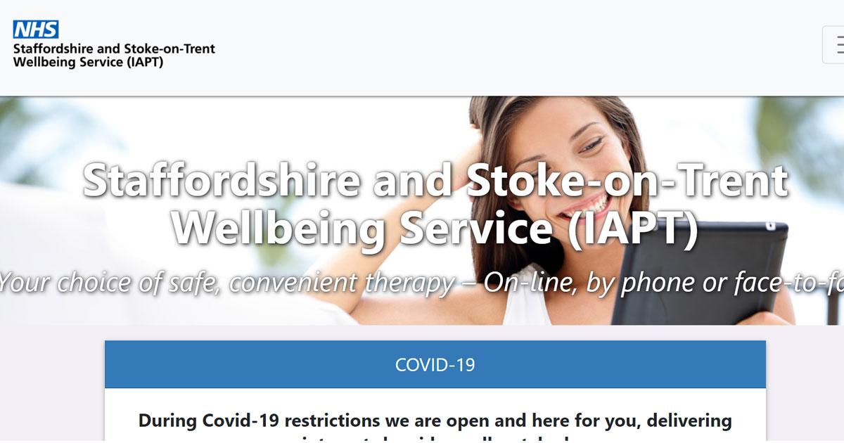 nhs staffs stoke wellbeing service