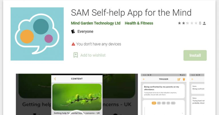 sam self help app