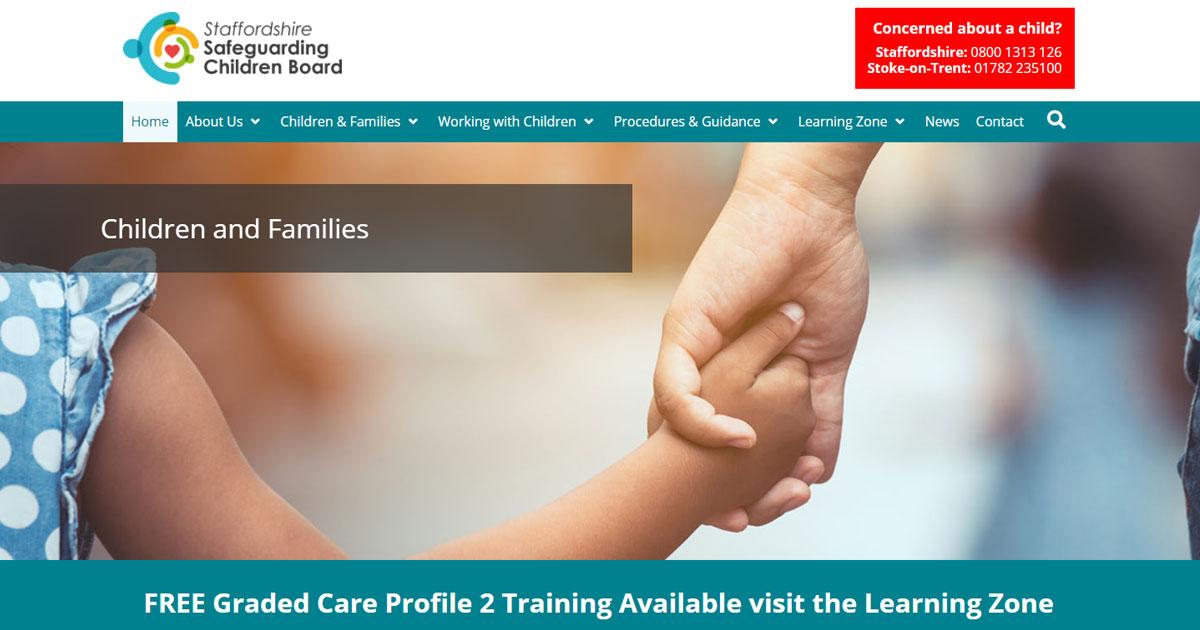 staffordshire safeguarding children board