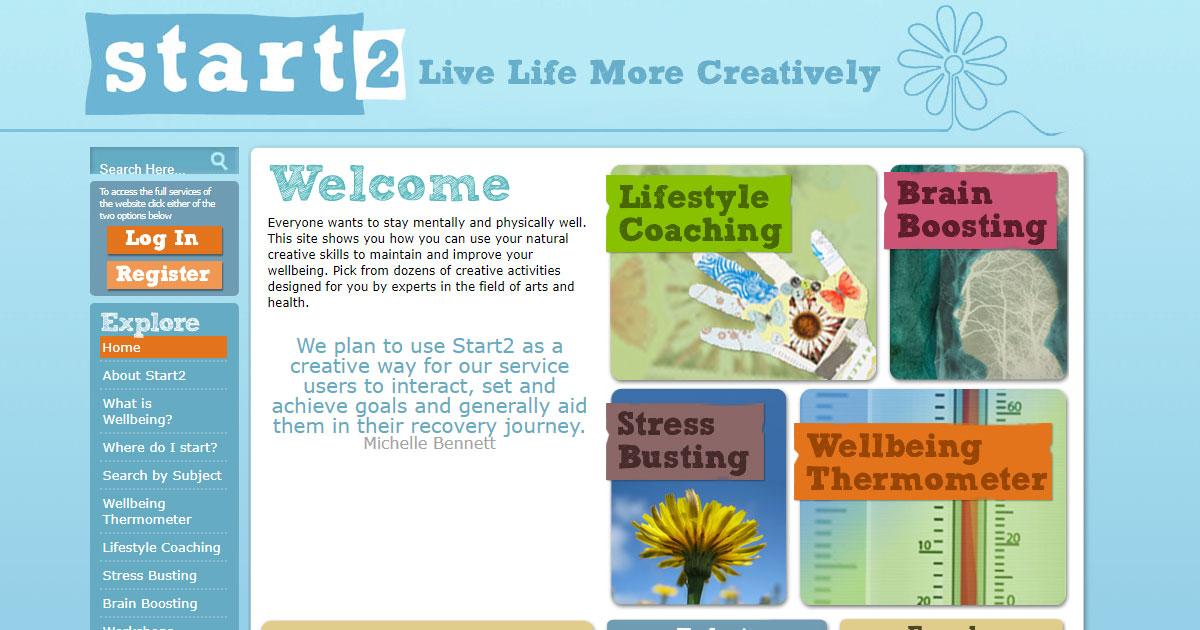 start creative mental health