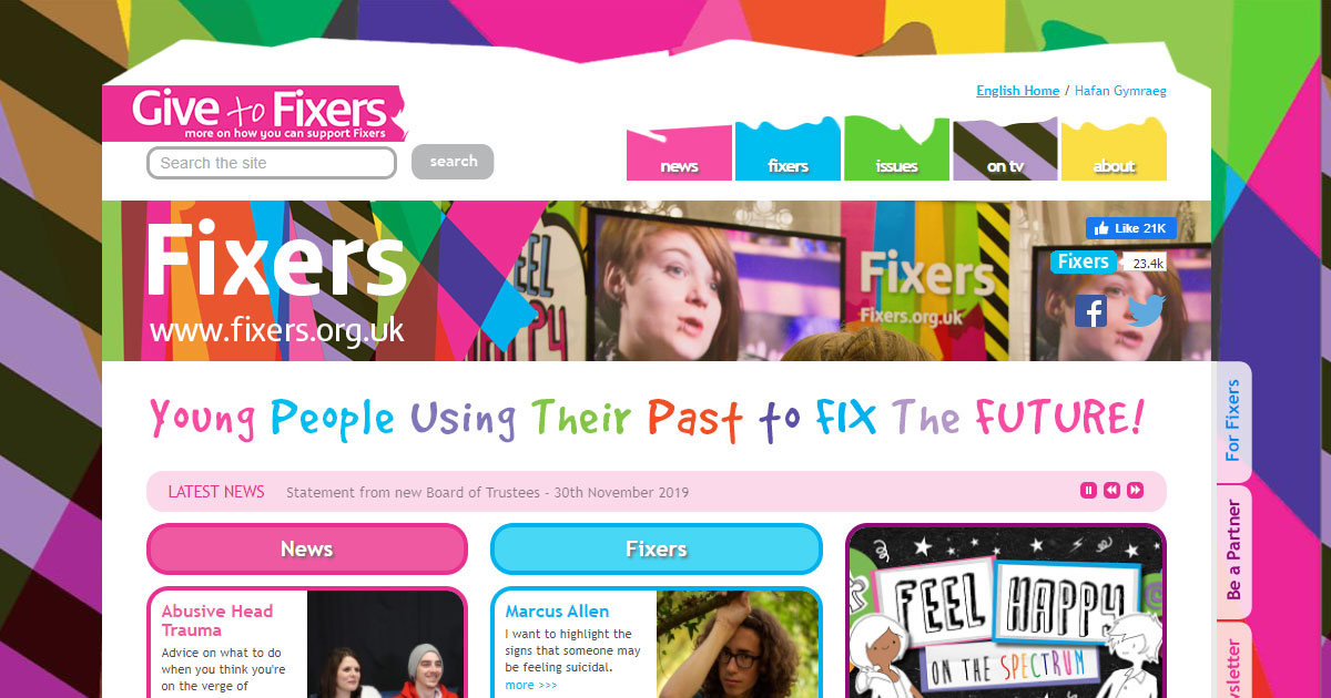 the fixers young people support