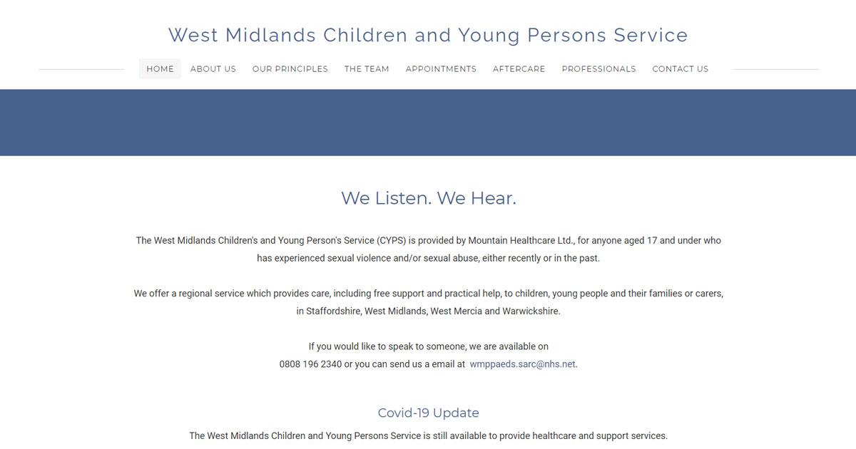 west midlands childrens service
