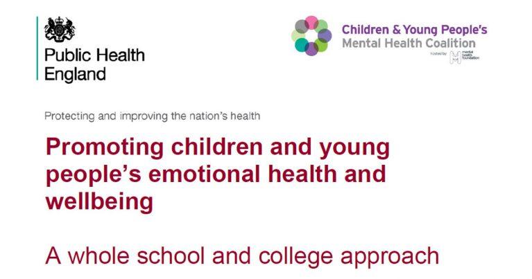 whole school approach mental health phe guide