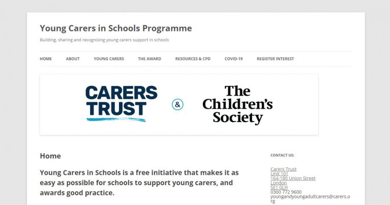 young carers school