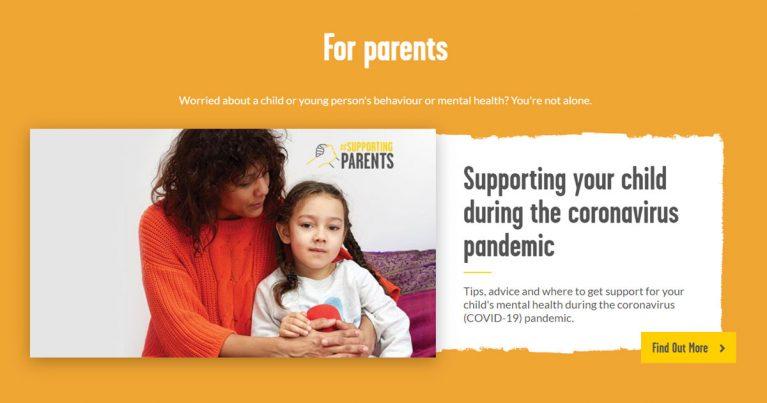 youngminds parents resources